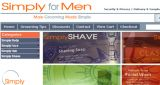 Simply For Men Website